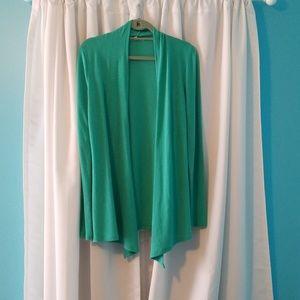 41 Hawthorn drape front lightweight cardigan Large